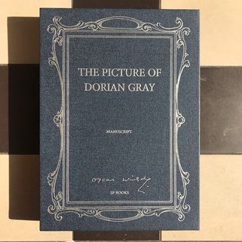 Facsimile of The Picture of Dorian Gray Manuscript