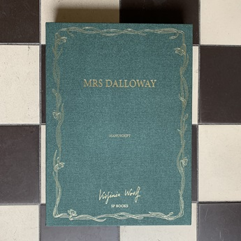 Facsimile of the Mrs Dalloway Manuscript
