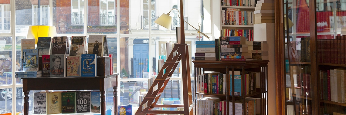 About Heywood Hill Bookshop Mayfair